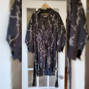 Zara Tie-Back Printed Tunic XL